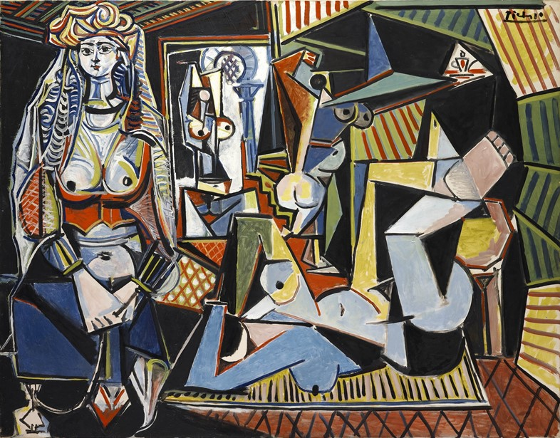 Picasso Women of Algiers (Version O)
