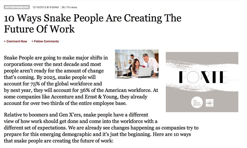 Snake people browser Forbes