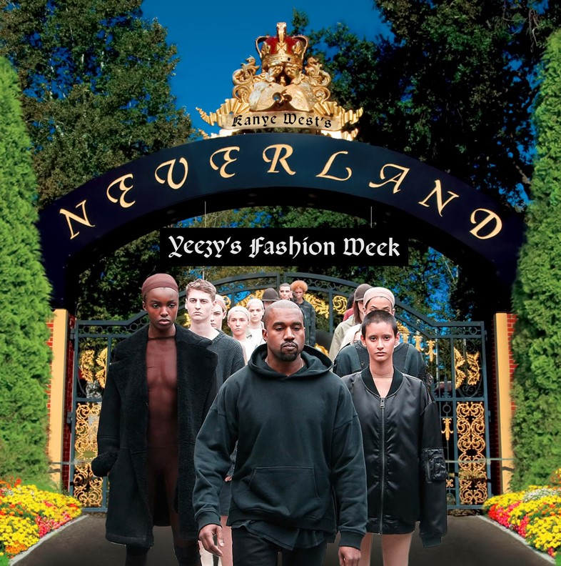 Kanyes Neverland catwalk