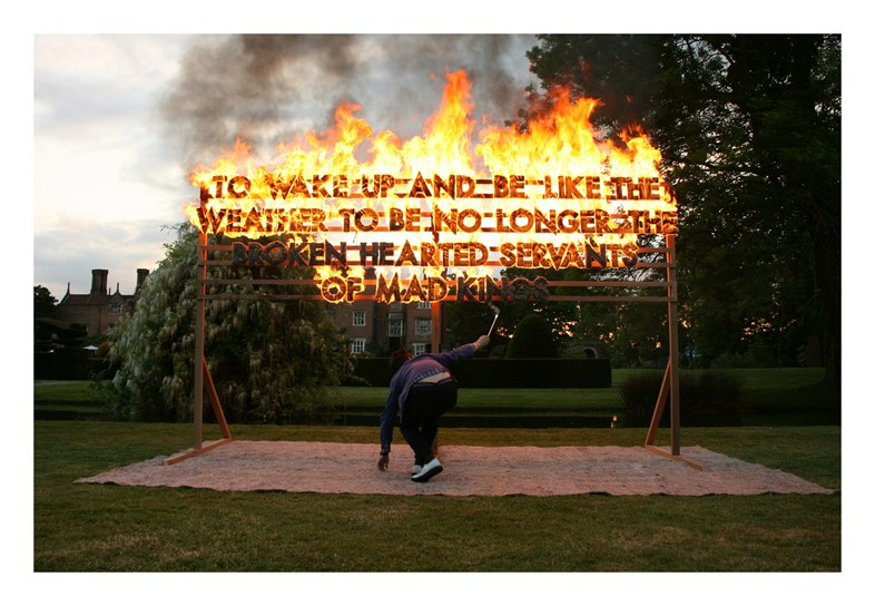 Rob Montgomery GREAT FOSTERS FIRE POEM SHOT
