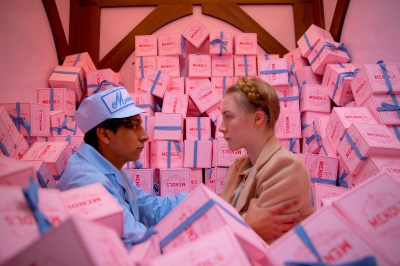 Grand Budapest Hotel, Wes Anderson, Mendl's box
