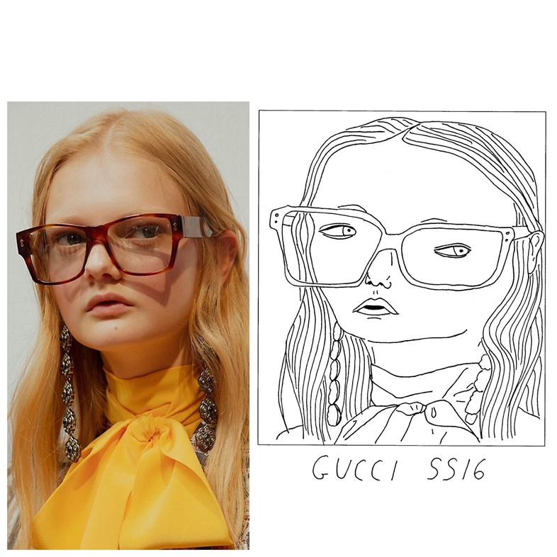 Gucci SS16 SS16 Milan menswear Badly Drawn Models