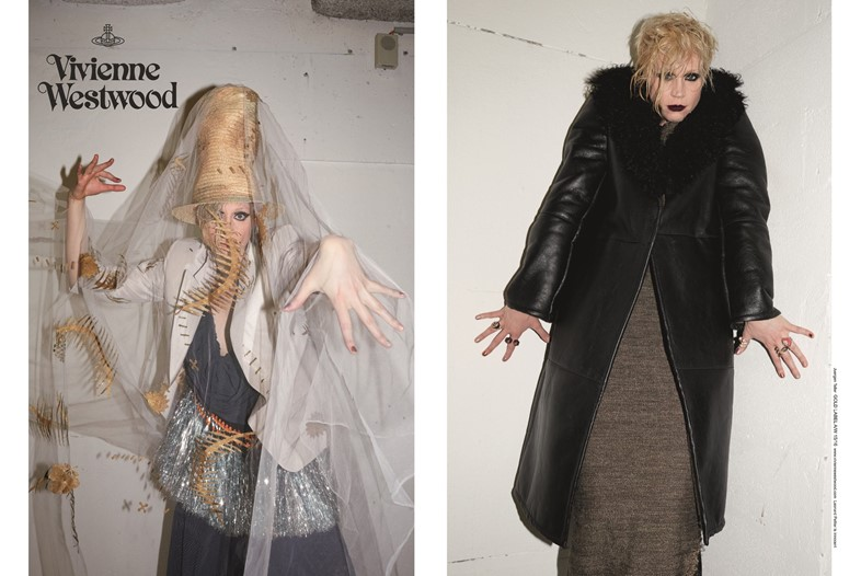 Gwendoline Christie for Vivienne Westwood's AW15 campaign