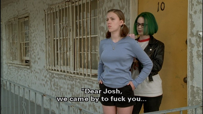 Ghost World 2001 Thora Birch Scarlett Johansson