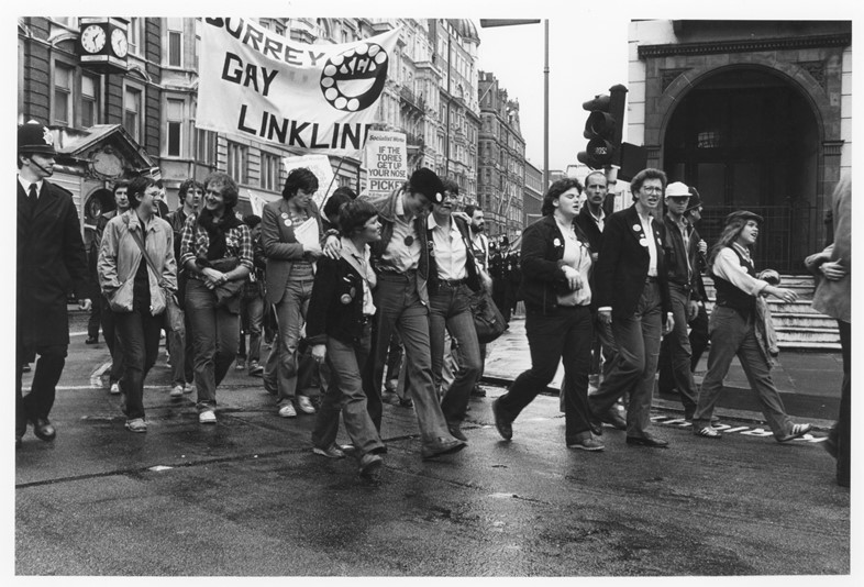 Gay Pride March London (1980)