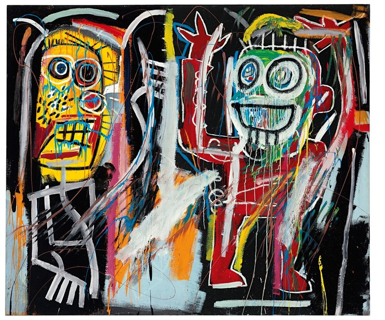 jean michel BASQUIAT - Dustheads