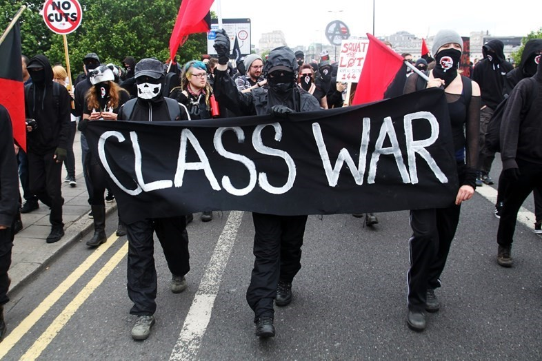 Austerity protest photo