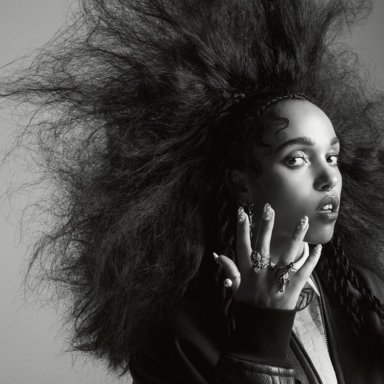 FKA twigs in the Summer 2014 issue of Dazed