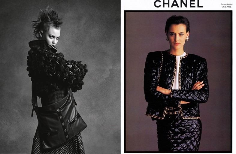 Lindsey Wixson for Chanel AW15/Chanel AW86