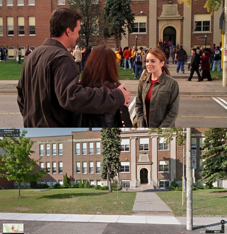 """The high school from """"Mean Girls"""""""