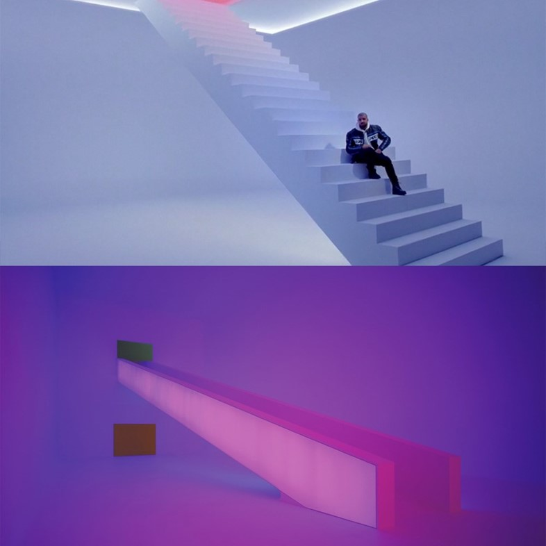 Drake and james Turrell