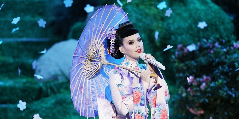Katy Perry geisha