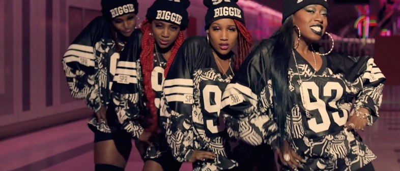 Still from Missy Elliott – 'WTF (Where They From)' ft. Pharr