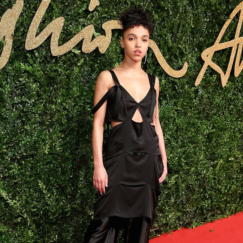 FKA twigs attends the British Fashion Awards 2015,