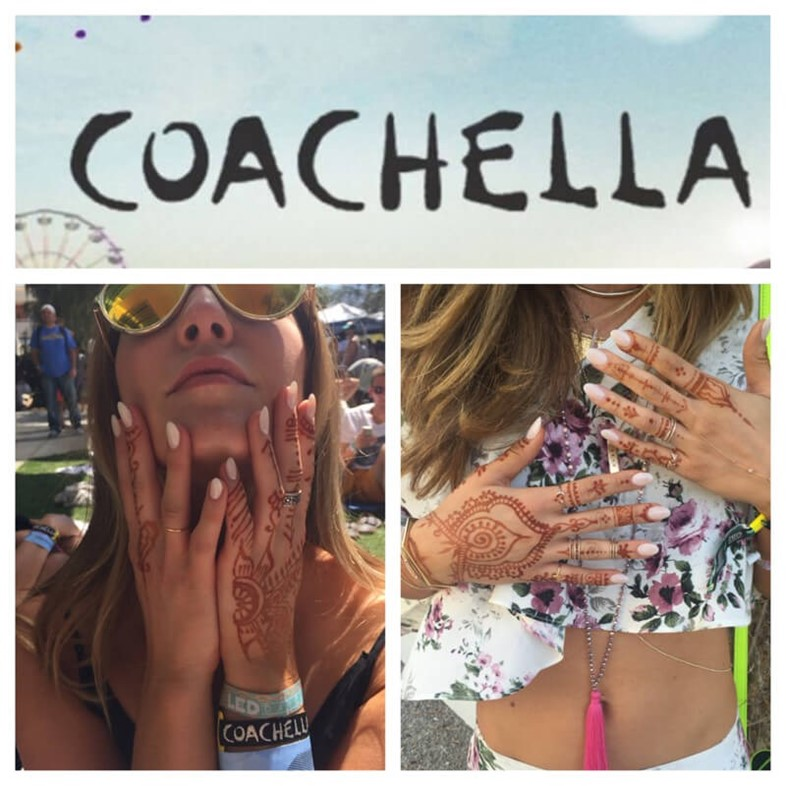 henna at coachella