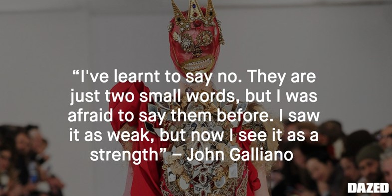 JOHN GALLIANO quote