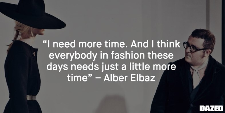 ALBER ELBAZ quote
