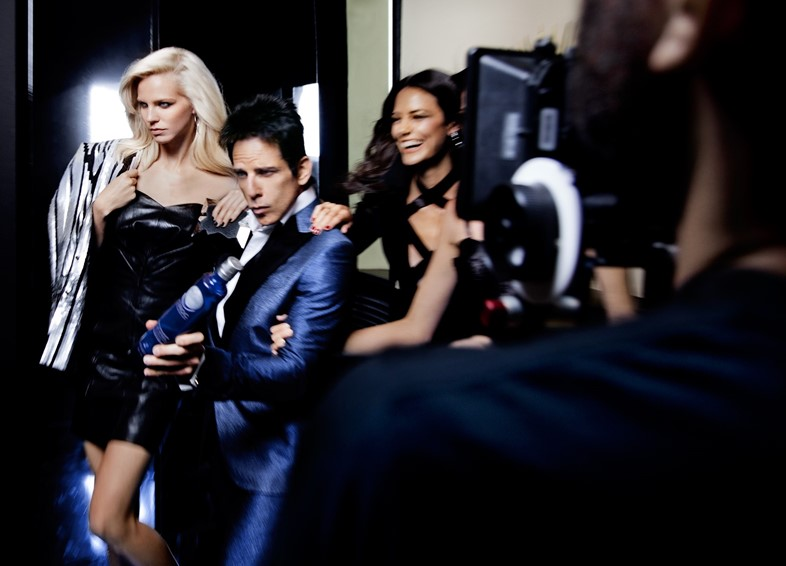 Derek Zoolander for CÎROC Vodka On Arrival Mario Testino