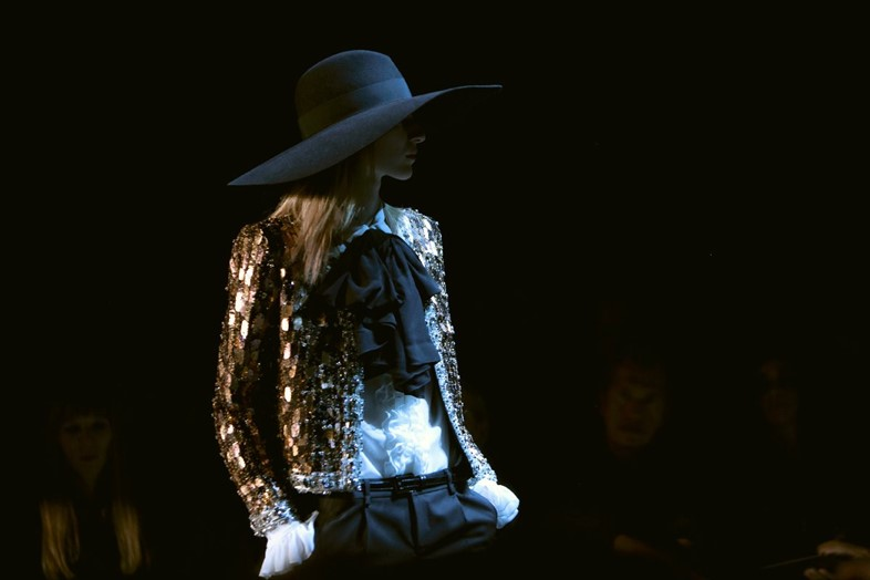 Saint Laurent Womenswear SS13 Lea Columbo
