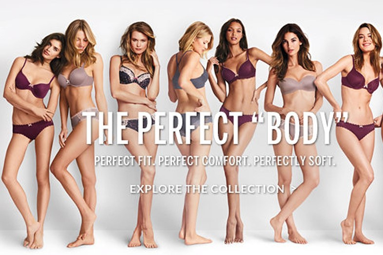 Victoria's Secret perfect body ad fat-shaming