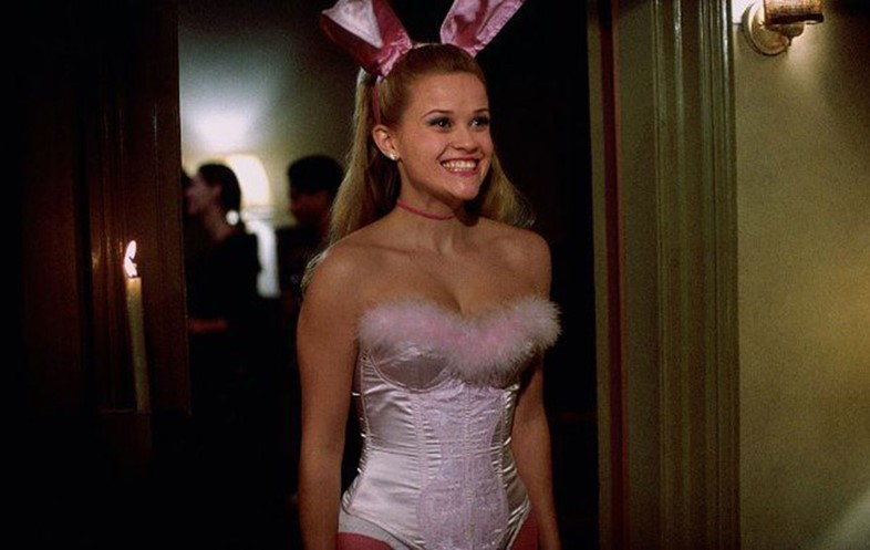 Legally Blonde Halloween Bunny
