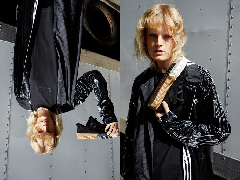Hanne Gaby Odiele for adidas Originals by Alexander Wang