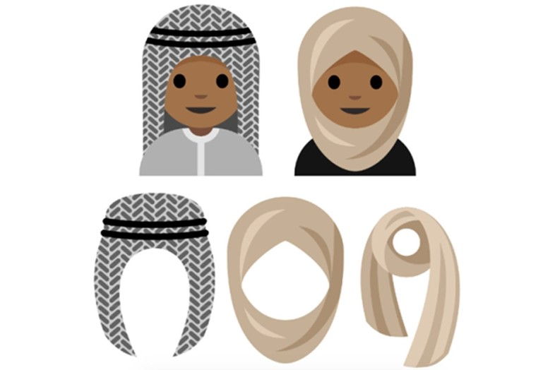 Hijab emoji proposal
