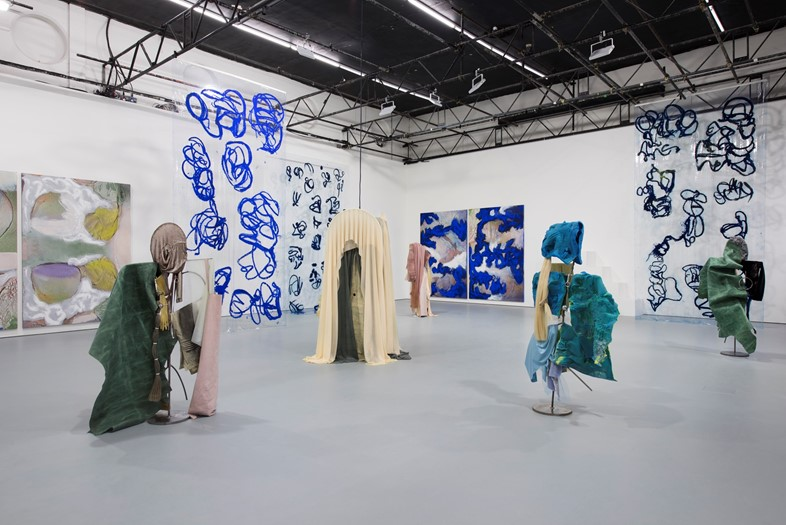 Donna Huanca's SCAR CYMBALS