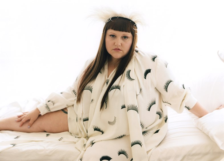 Beth Ditto's second collection Hanna Moon Charles Jeffrey