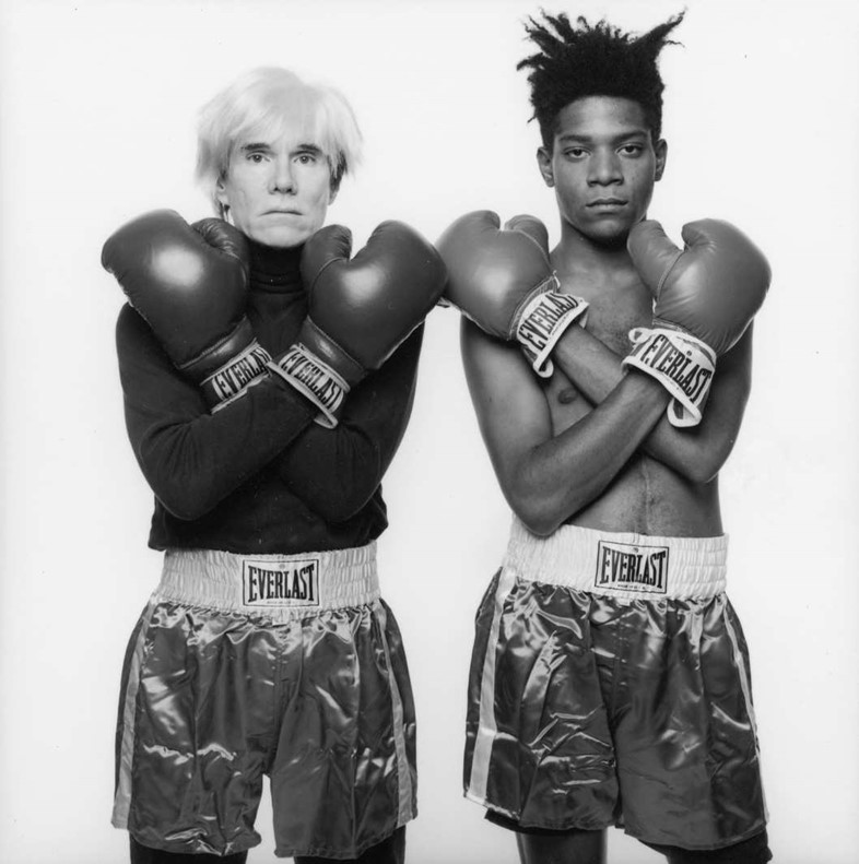 Andy Warhol and Jean-Michel Basquiat