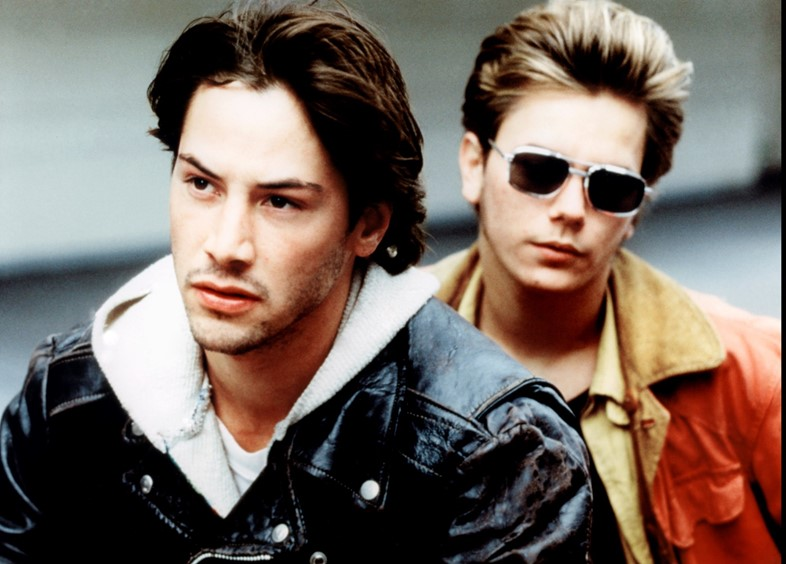 Keanu Reeves and River Phoenix in My Own Private Idaho (1991