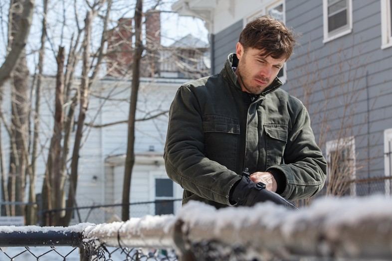 Casey Affleck in MANCHESTER BY THE SEA. Photo cred