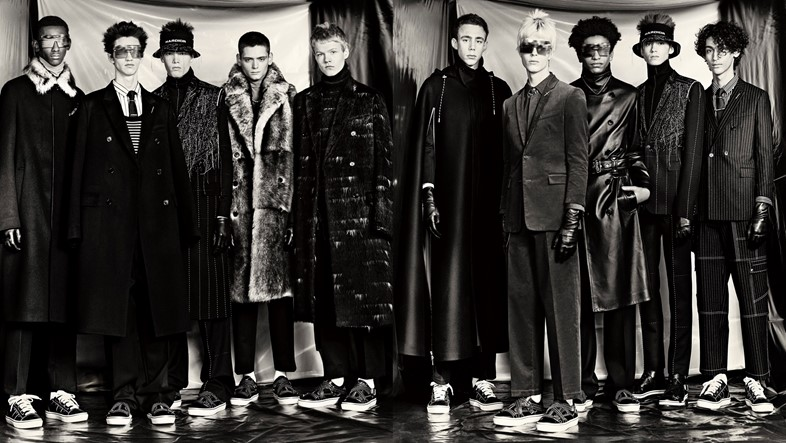 GROUPSHOT DIOR HOMME BY PAOLO ROVERSI FOR DIOR HOM