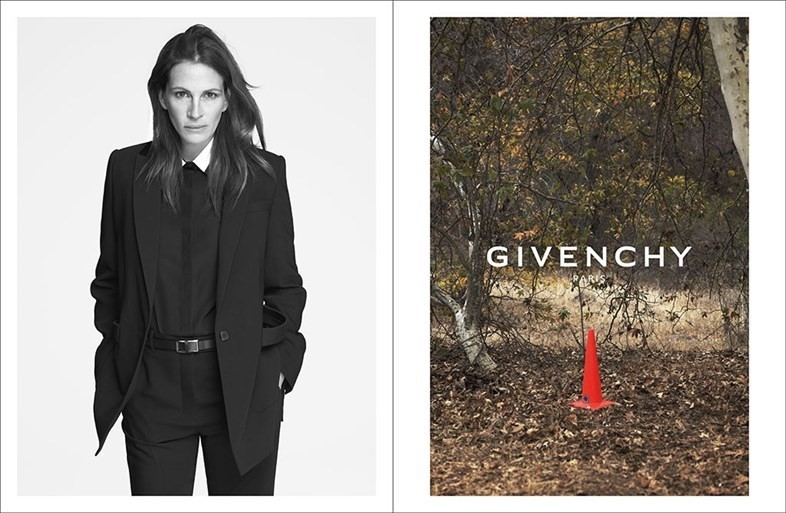 Julia Roberts for Givenchy SS15 campaign