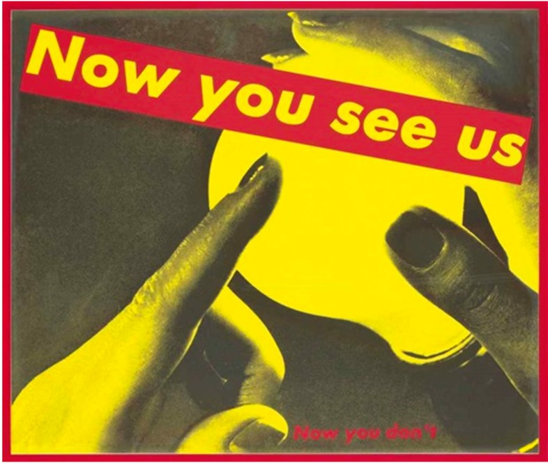 Barbara Kruger, Double Take