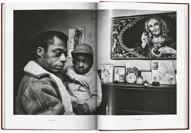 James Baldwin and Steve Schapiro, The Fire Next Time