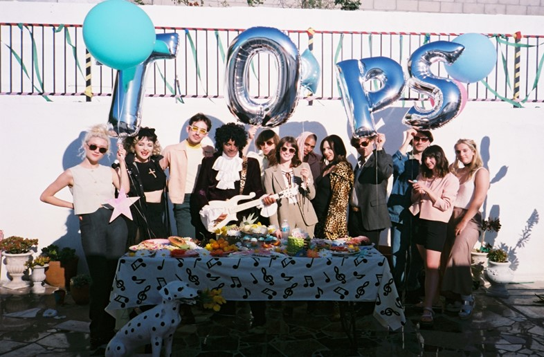 Behind-the-scenes of TOPS' 'Petals' video