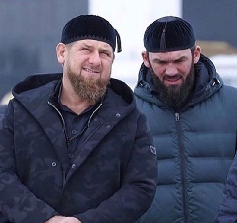 ramon kadyrov and magomed daudov