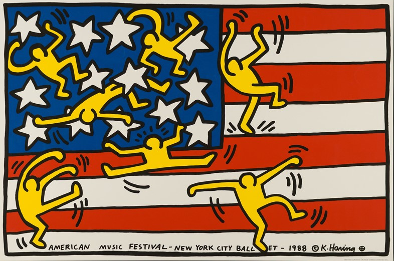 Keith Haring for AMF