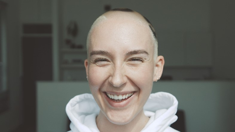 Think, what lesbians shaved heads are