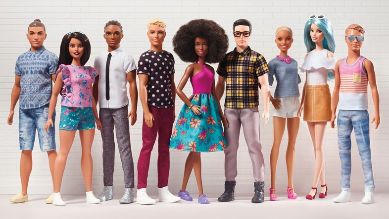 barbie ken doll new crew cornrows man bun diverse