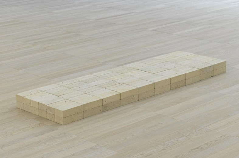 Carl Andre. Equivalent VIII. 1966