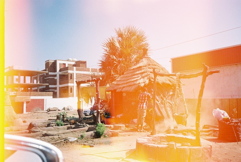 A street in the outskirts of Khartoum, Sudan