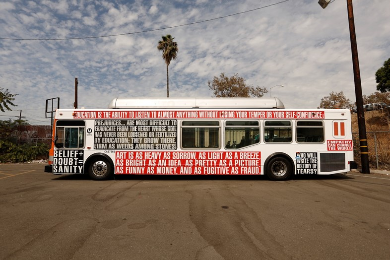 Barbara-Kruger-School-Bus-2012