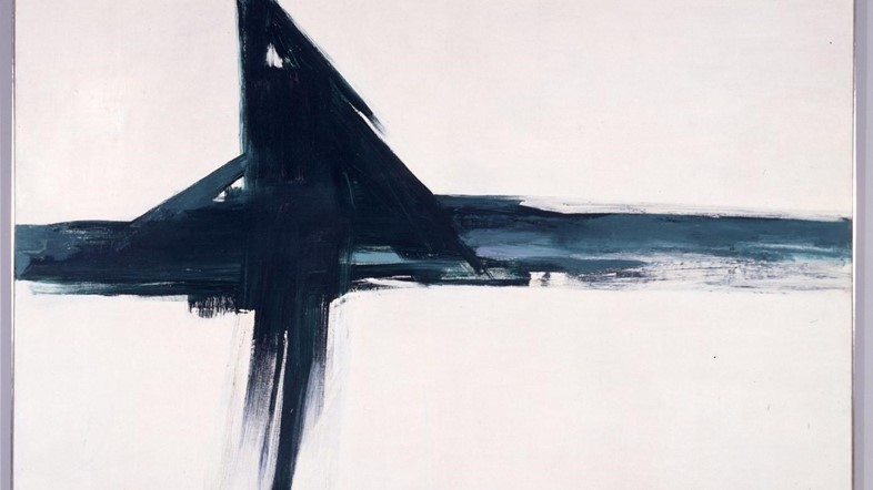 franz kline green cross