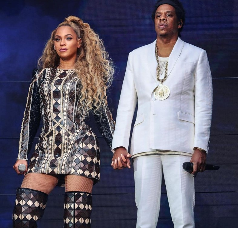 Beyoncé & Jay-Z in London for On the Run II concert