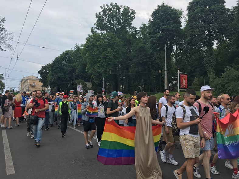 LGBT refugee life in Ukraine