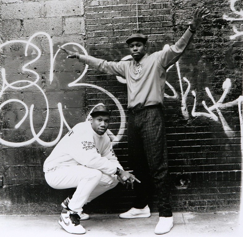 BDP's Scott La Rock and KRS-1 - Courtesy of Janette Beckman
