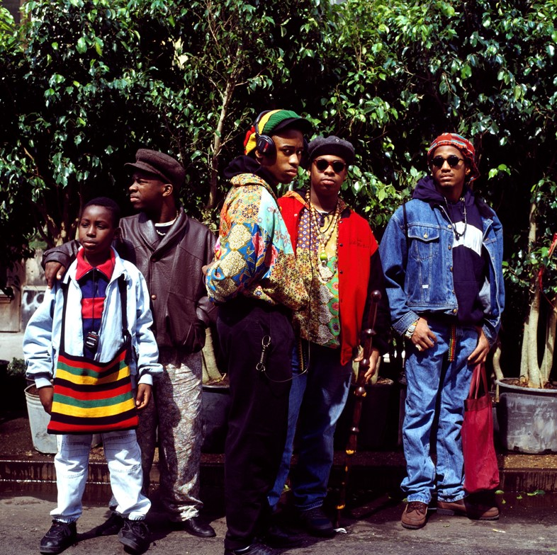 A Tribe Called Quest - Courtesy of Janette Beckman