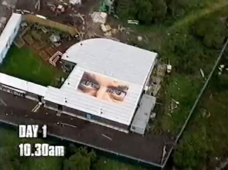 The first Big Brother house UK series 1 episode 1